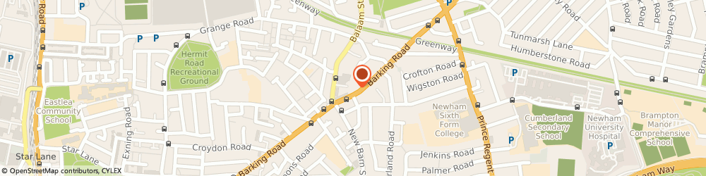 Route/map/directions to Fred & Sons Locksmith, E13 8EE London, 395 Barking Rd
