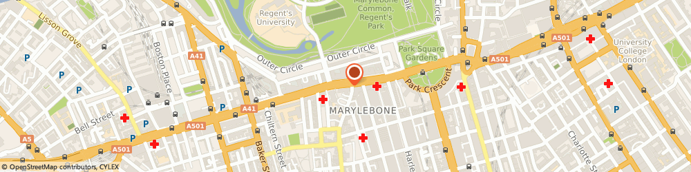 Route/map/directions to North West London Cancer Network, NW1 5JD London, 15 MARYLEBONE ROAD