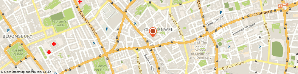 Route/map/directions to The Physiological Society, EC1R 3AW London, Hodgkin Huxley House, 30 Farringdon Lane