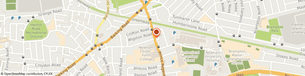 Route/map/directions to Global Max Minicab and Chauffeurs - Minicab Service, E3 2SE London, 153-159 Bow Road