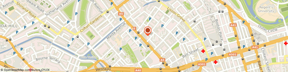 Route/map/directions to UPS Solutions Logistics, W2 1EG London, Edgware Road, 440