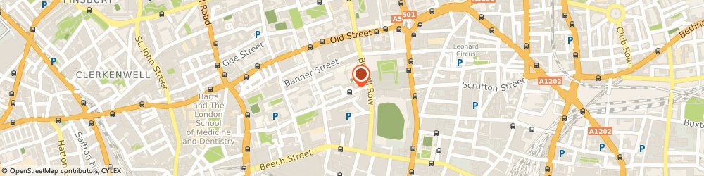 Route/map/directions to Aperio Intelligence Limited, EC1Y 8PD London, 16 Dufferin Street