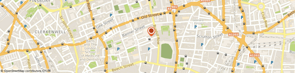 Route/map/directions to Etude Consulting Limited, EC1Y 8PQ London, 3 Dufferin Avenue