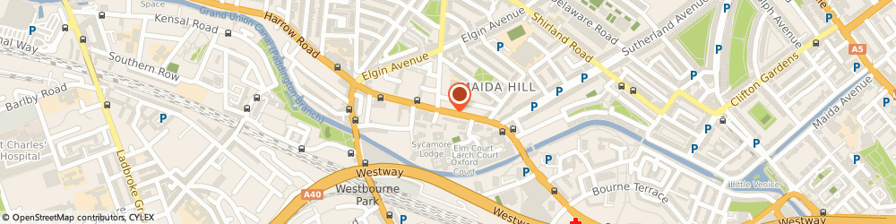 Route/map/directions to Paw Print, E11 3PX London, Arch 307, 183A Harrow Road