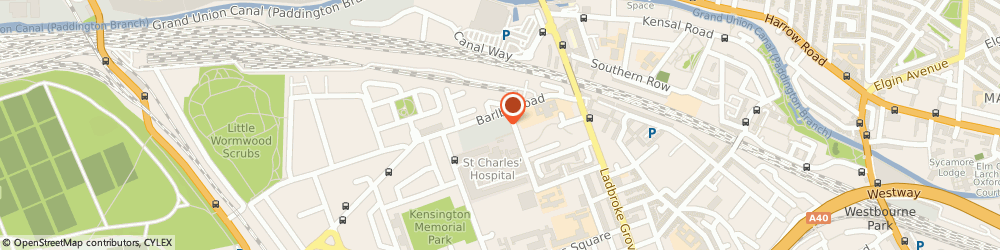 Route/map/directions to Lisa Redman Ltd, W10 6BD London, 2-4 Exmoor Street, Notting Hill