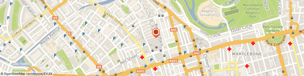 Route/map/directions to Design 5 Ltd, NW1 0TL London, 40 BRUGES PLACE