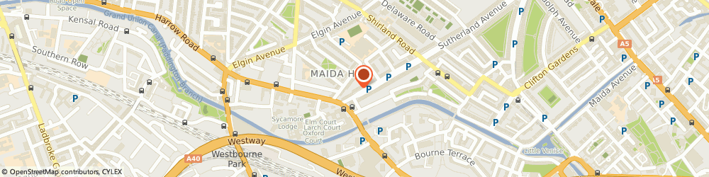 Route/map/directions to Sparrow Dry Cleaners London, W9 2HQ London, 6 Sutherland Ave