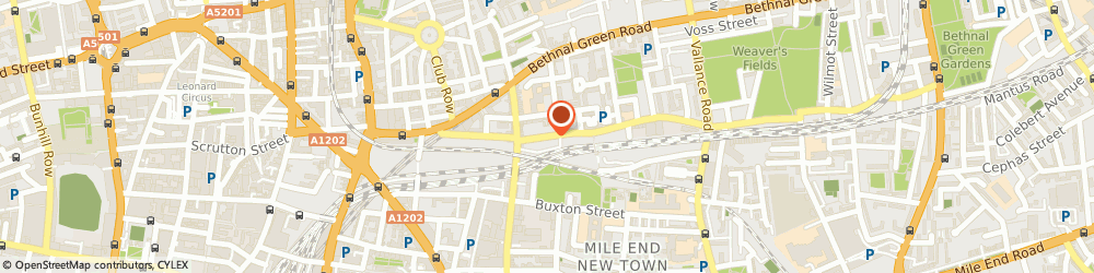 Route/map/directions to VZ Gallery, E2 6EH London, 28 CHESHIRE STREET