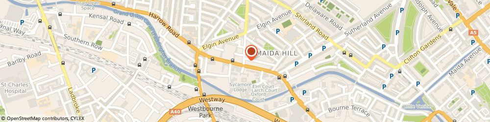Route/map/directions to Rose Cleaner, W9 2AH London, 1 Chippenham Road
