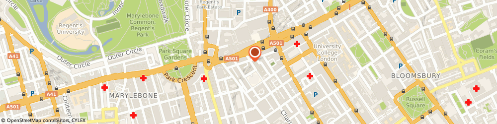 Route/map/directions to AdvertALL, W1T 6EB London, Silverstream House, 45 Fitzroy Street