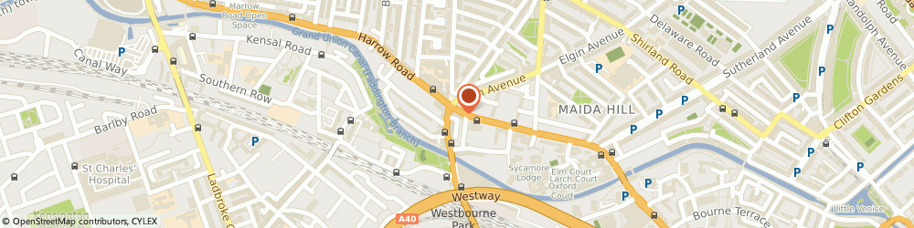 Route/map/directions to Amen Dry Cleaners, W9 3RA London, 343 Harrow Rd