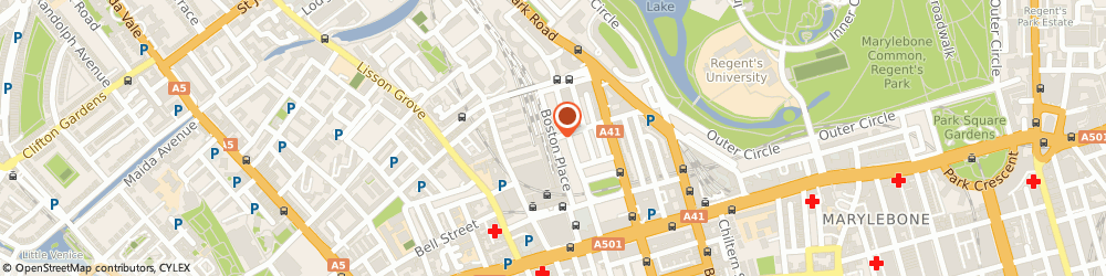 Route/map/directions to Place 54 Architects, NW1 6ER London, 54 Boston Pl