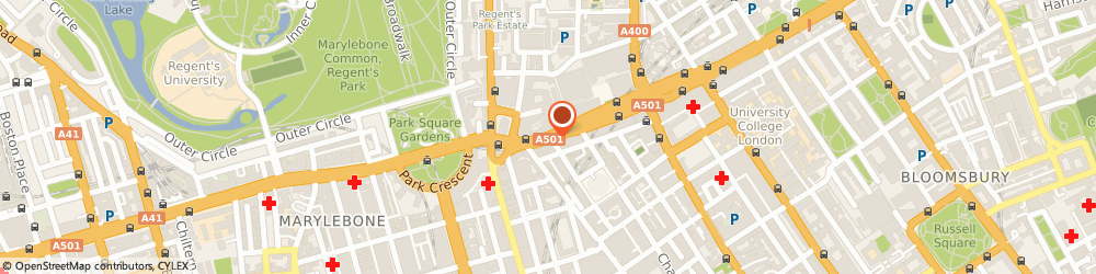 Route/map/directions to Margolis Office Interiors Ltd, NW1 3AD London, 341 Euston Road