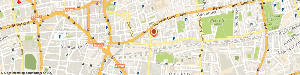 Route/map/directions to Shapla Spice, E1 6SA London, 218A Brick Lane