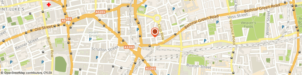Route/map/directions to OFFNON LTD, E2 7DP London, 28 Redchurch St 1St Floor