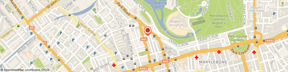 Route/map/directions to A b Associates, NW1 9PL London, 6 IVOR STREET