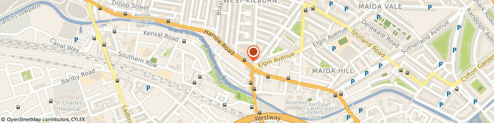 Route/map/directions to Four Corners Framing Ltd, W9 3QA London, 490 Harrow Road