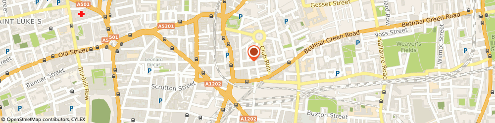 Route/map/directions to CELLO SIGNAL LIMITED, E2 7HR London, 31 Old Nichol St