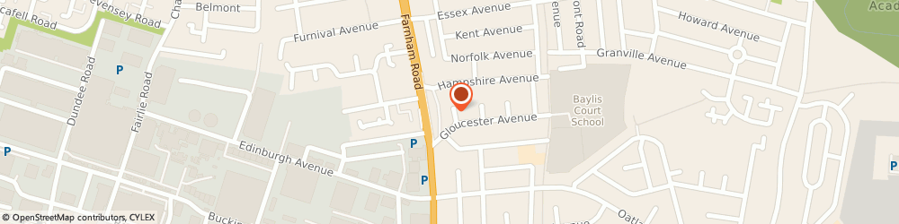 Route/map/directions to Bydes Home Improvements Limited, SL1 3AU Slough, 4 FIRST CRESCENT