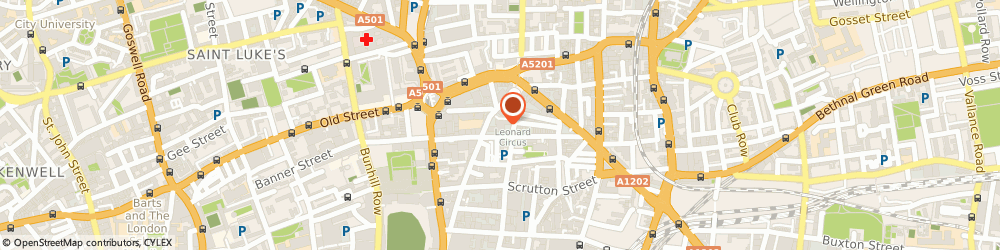 Route/map/directions to Efinancialcareers Limited, EC2A 4NW London, Telephone House, 69-77 Paul Street