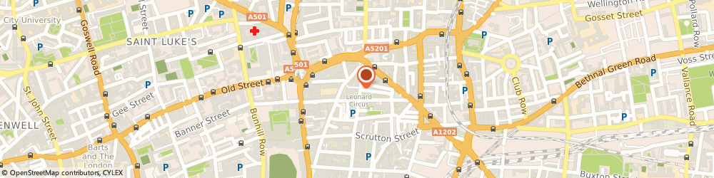 Route/map/directions to Chauffeur First, EC2A 4BH London, 12A Willow Street