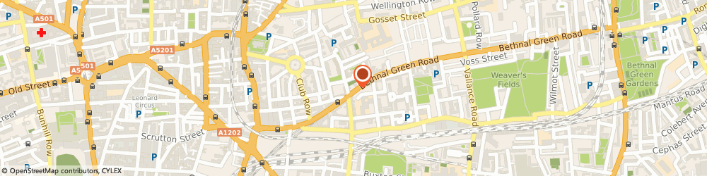 Route/map/directions to Splash Of London, E2 7DG London, 131 Bethnal Green Road