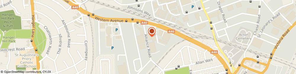 Route/map/directions to Wren Kitchens, W3 0RZ London, West Five Centre