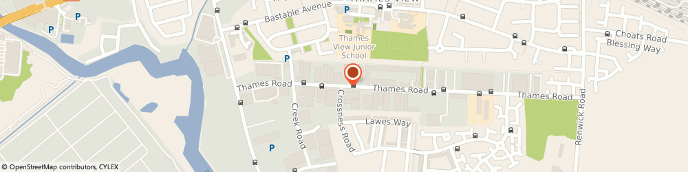 Route/map/directions to Character Comforts, IG11 0HN Barking, 19 Thames Road