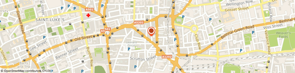 Route/map/directions to Counselling and Psychotherapy in Shoreditch, EC2A 3QR London, 64 Great Eastern Street