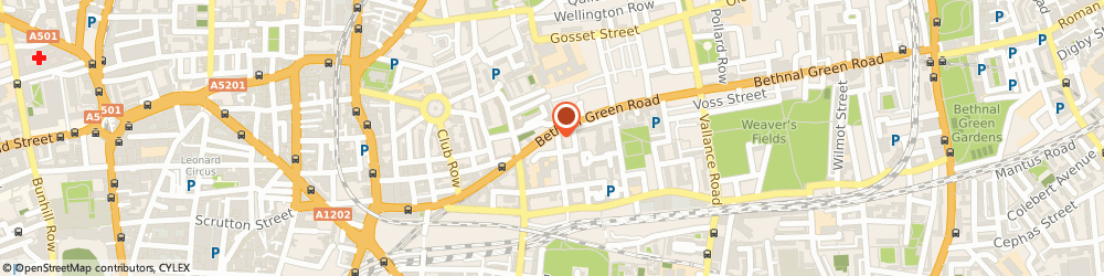 Route/map/directions to CITYIKON, E2 6DG London, 158 Bethnal Green Road