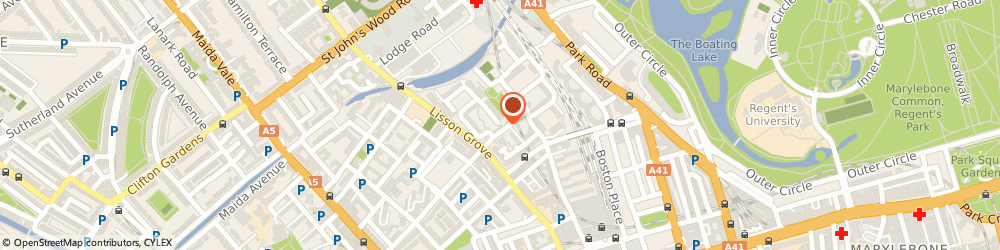 Route/map/directions to Street Team, NW8 8SS London, 39 Lilestone street
