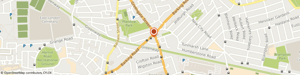 Route/map/directions to A f S (Security) Ltd, E13 9JU London, 584 Barking Road