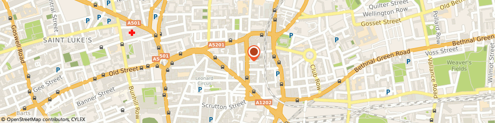 Route/map/directions to Response Advertising International Ltd, EC2A 3AH London, 3RD FLOOR, 114-116 CURTAIN ROAD