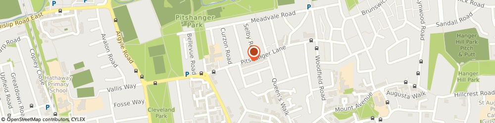 Route/map/directions to Kamps, W5 1RH London, 119A, Pitshanger Lane