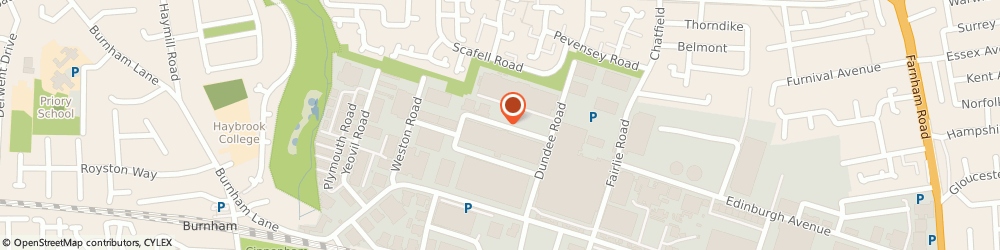 Route/map/directions to Excel Engineering, SL1 4LR Slough, 708-710 BANBURY AVENUE