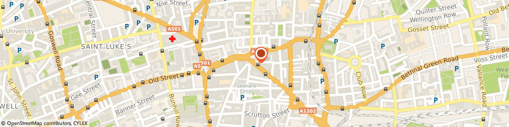 Route/map/directions to Network 9000 Limited, EC2A 3JF London, 82 GREAT EASTERN STREET
