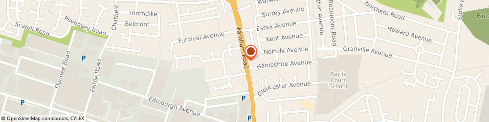 Route/map/directions to Furniturexpress, SL1 4XS Slough, 199-203 Farnham Road