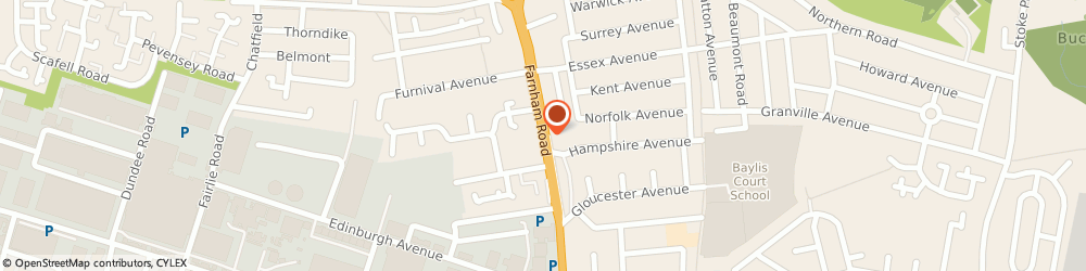 Route/map/directions to STA GROUP LTD., SL1 4XS Slough, 203 Farnham Rd