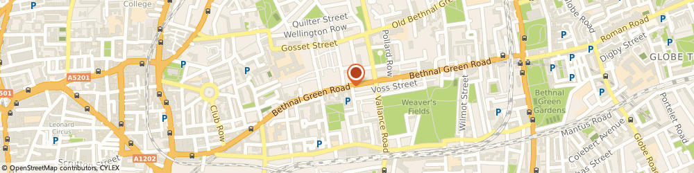 Route/map/directions to Brody Sports, E2 0AA London, 256, BETHNAL GREEN ROAD