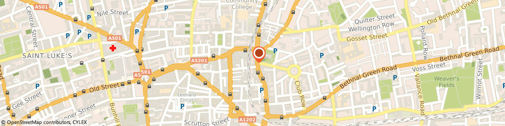 Route/map/directions to Cafe Kick, E1 6JE London, 127 Shoreditch High Street