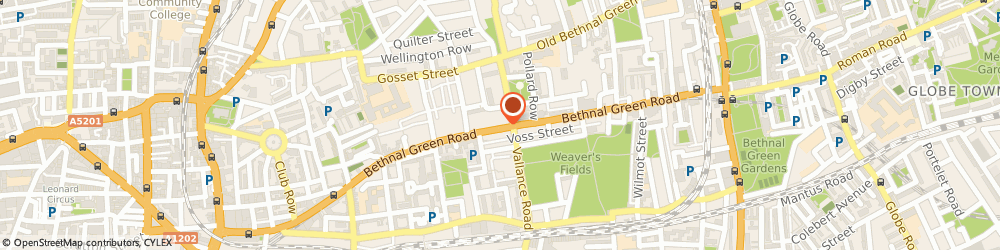 Route/map/directions to Desi Wedding, E2 6AH London, 291 Bethnal Green Road