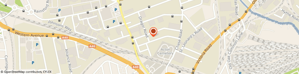 Route/map/directions to Three Colours Ltd, NW10 6LA London, 37-43 Gorst Road