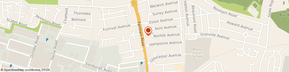 Route/map/directions to The Beeches Veterinary Hospital (Active Vetcare), SL2 1BT Slough, 348 Farnham Road