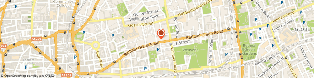 Route/map/directions to Needle Point, E2 6AD London, 4 Barnet Grove