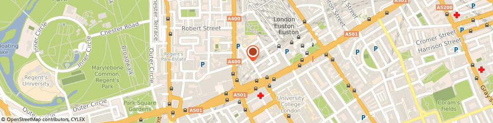 Route/map/directions to Bio Organix Health Store, NW1 2PB London, 141-153 Drummond Street