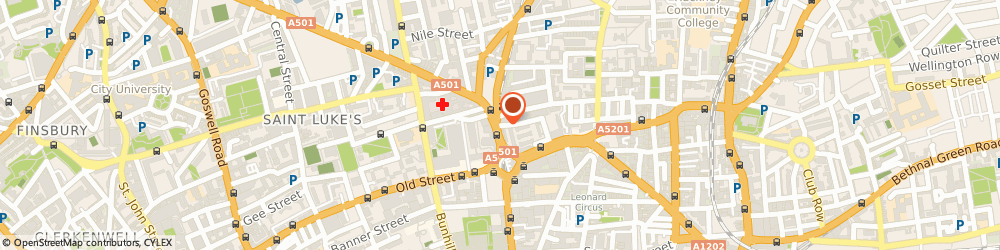 Route/map/directions to Citygate cars, EC1V 1JB London, The Basement, 135, City Rd
