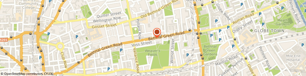 Route/map/directions to Paddy Power Bookmaker, E2 0AH London, 400 Bethnal Green Road