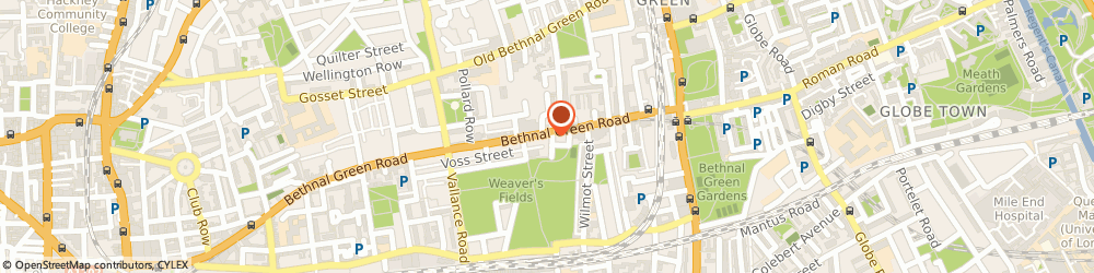 Route/map/directions to TSB Bank, E2 0AH London, 404 Bethnal Green Road