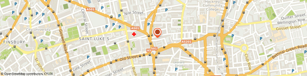 Route/map/directions to Beare Violins Limited, EC1V 9EE London, 5-7 Cranwood St
