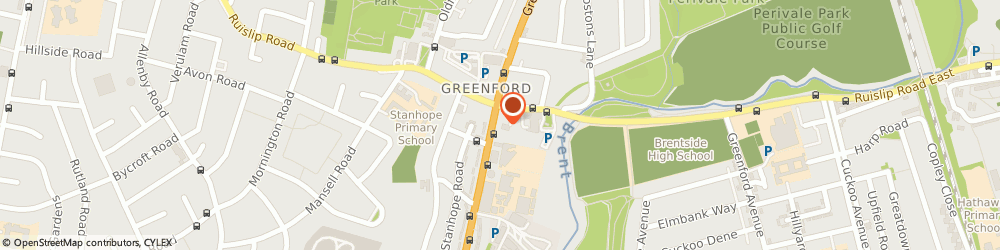 Route/map/directions to Grandstones, UB6 9AH Greenford, Allied Sanif House, 412 Greenford Road